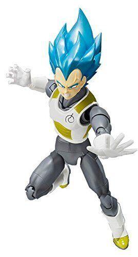 In Braun Box  Dragon Ball S.H.Figuarts Super Saiyan God SS Vegeta Action Figure