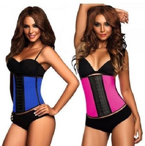 Ann Chery 2023 Workout 3 Hooks Rows Latex Waist Cincher   Reductor  Trainer
