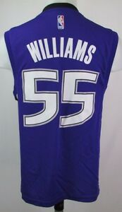 1b2d1b780 Sacramento Kings Men s  55  Jason Williams  Replica Jersey NBA ...