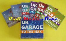 CD UK GARAGE TO THE MAX BOX 6 CD compilation 2000 DJ RIDE PART 11 GOLDIE (C8)