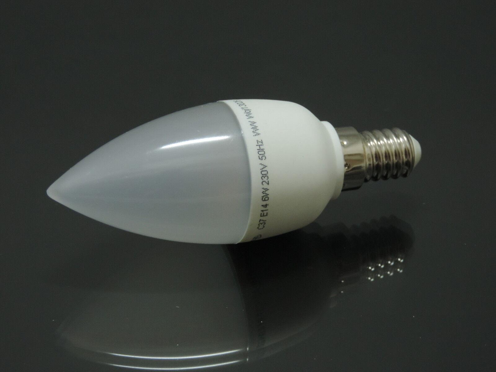 Led Kerzen Lampe E14 6Watt 480-500 Lumen warmweiß kaltweiß