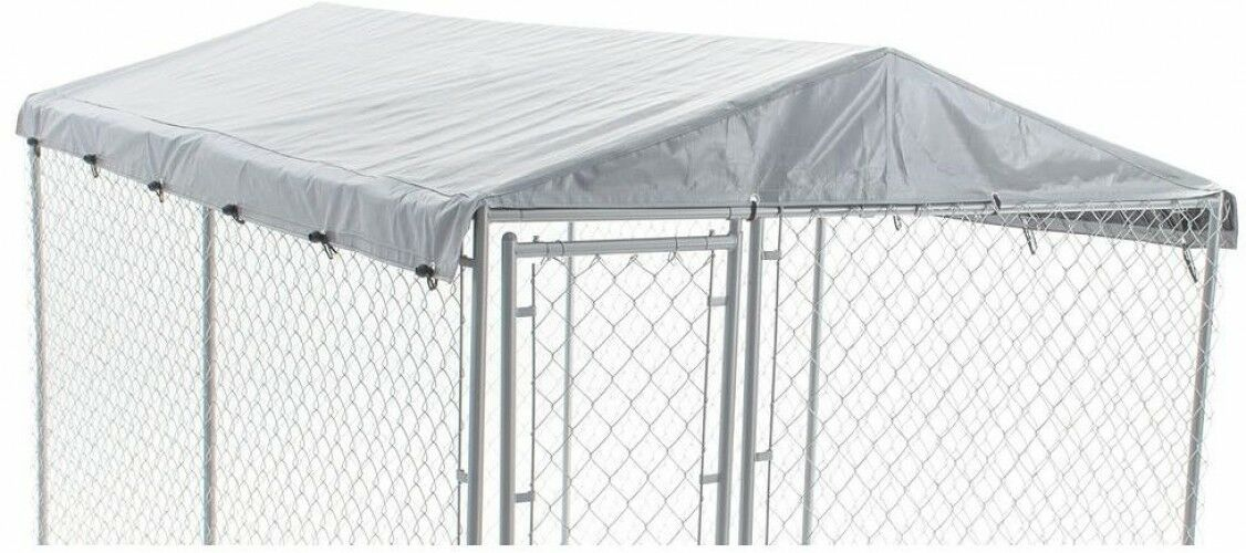 Kennel Cover Waterproof Universal Protect Dog Pet Sun Rain Outdoor 6 ft. x 10 ft