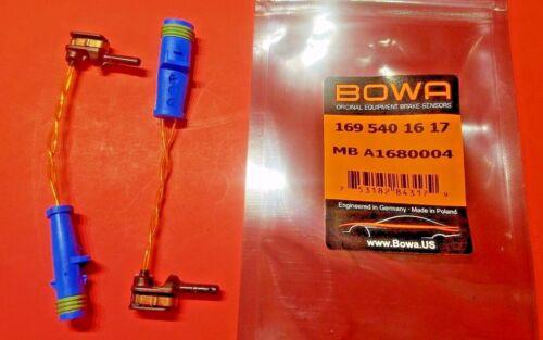 Mercedes Brake Pad Warning Sensor Set of X2 B C CLA E G GLA GLC BOWA OEM