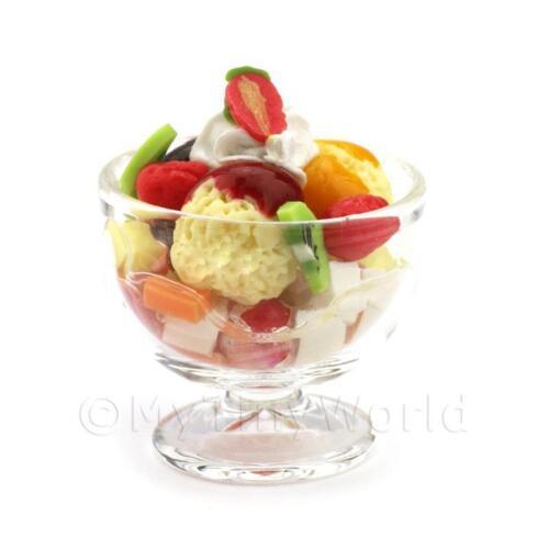 Casa De Muñecas Saucy fruta sorpresa Helado Sundae para compartir