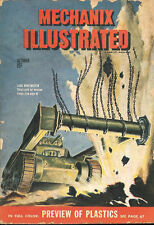 MECHANIX ILLUSTRATED OCT 44 TANK MINE FLAILS_CLEARING INVASION HARBORS_POST-WAR
