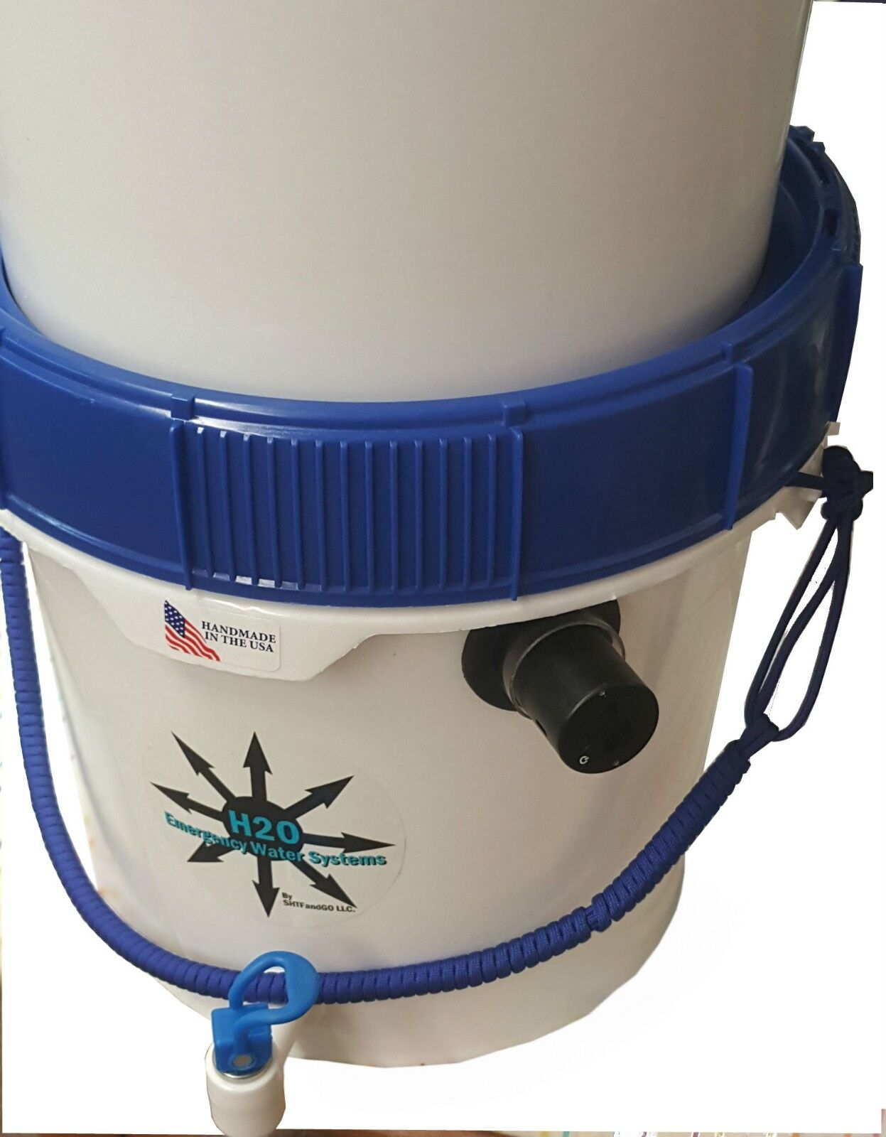 Gravity Well Ultra Water Filter Purifier with UVC Sterilizer for Virus