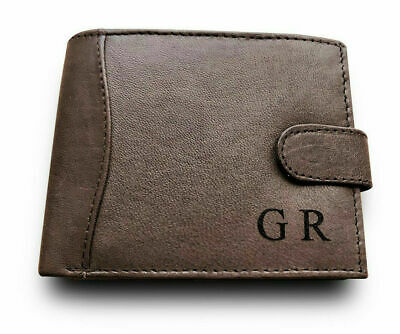 Personalised Engraved Leather Wallet