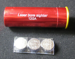 Red-Laser-Bore-Sight-12-Gauge-Barrel-Cartridge-Sighter-For-12GA-Caliber-Hunting