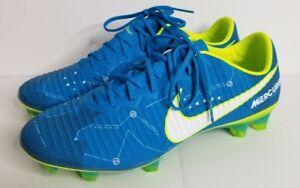 870456d64119 Nike Mercurial Vapor XI NJR FG 921547 400 Men's Blue Orbit NIB Size ...