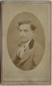 Louis Soyer Lione Francia Carte de visite CDV Foto Vintage Albumina