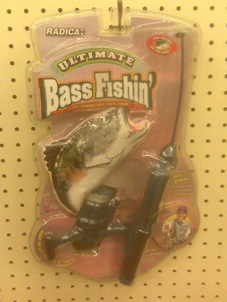 Nuevo-radica-Ultimate Bass Fishin' - hecho en 1998 Juego de pesca electrónicos