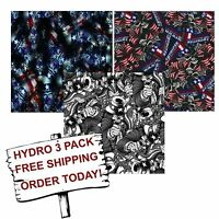 Hydro Dip Hydrographic Film Water Transfer Printing Film American Uncle 3 Pack