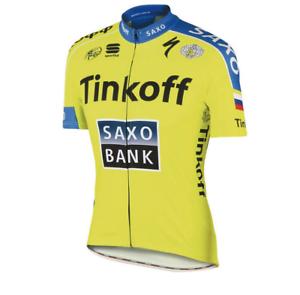 Castelli Cycling Men's Tinkoff-Saxo Team Jersey bluee Size L
