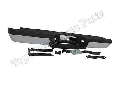 Rear Step Bumper Assy Chrome W//Pad Bracket For 1994-2011 Ranger Pickup StyleSide