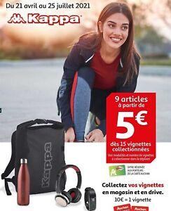 Lot De 50 Vignettes Auchan Kappa 2021