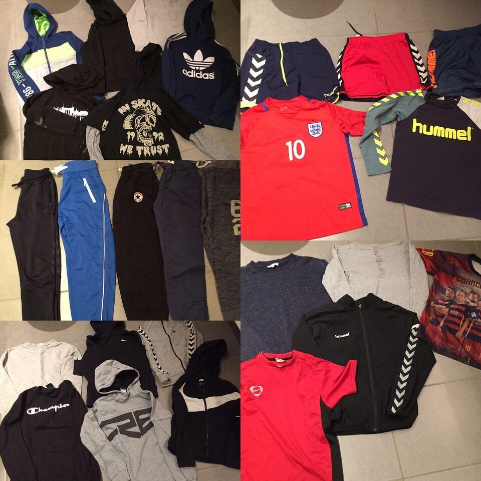 Blandet tøj, Tøjpakke 26 dele, Hummel