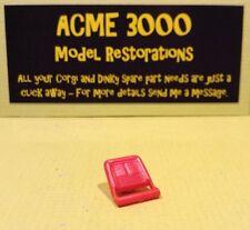 Corgi 338 Chevy Chevrolet Camaro Reproduction Repro Red Plastic Seat Back