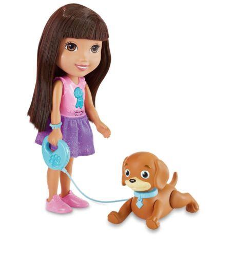 Dora and Friends-Train And Play Dora Perrito et Brand New *