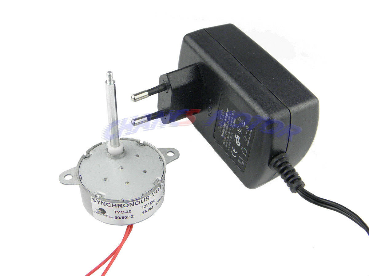 AC//AC Adapter Input AC 120V Output AC 12V With Different Shaft Of TYC-40 Motors