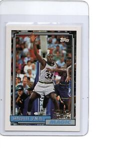 1992-93 Topps Basketball #362 Shaquille O'Neal Rookie Card Magic SEE SCANS