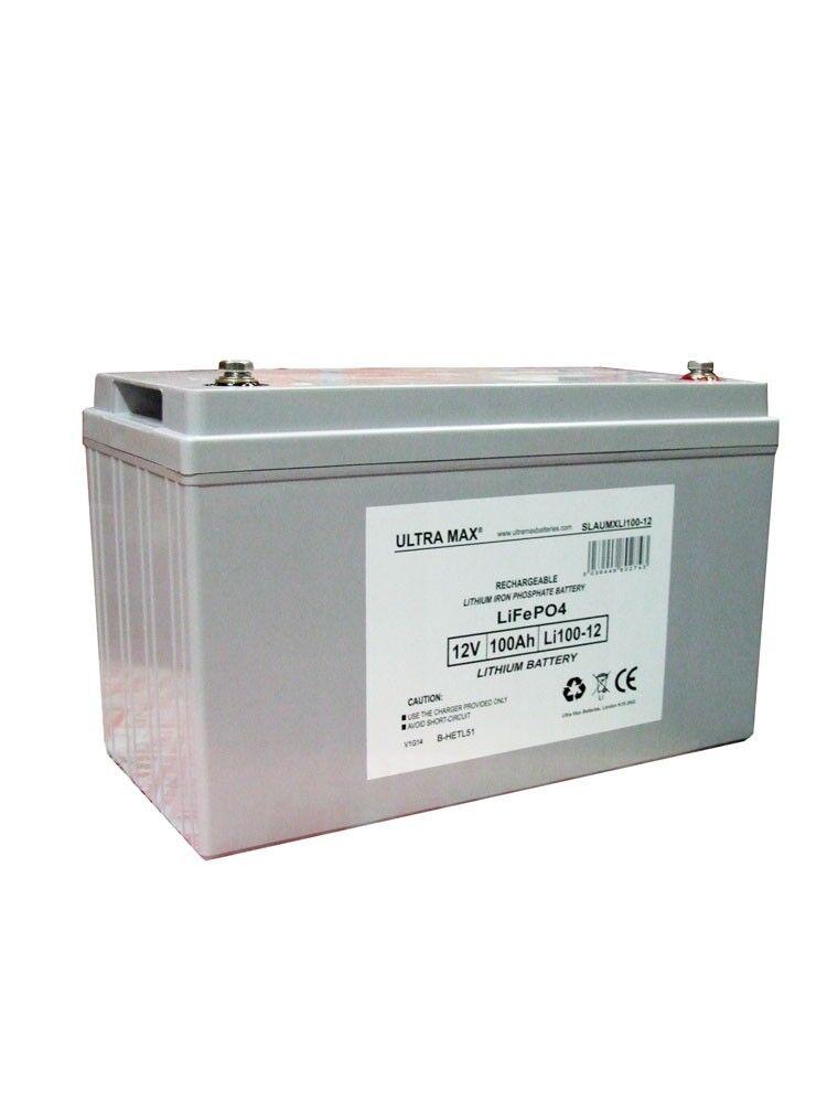 Batterie Lifepo4 À Cycle Profond Batterie Lithium ion 12v