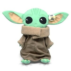 "Disney Star Wars Mandalorian The Child Pillow Buddy W/ Tag 18"" Tall Baby Yoda"