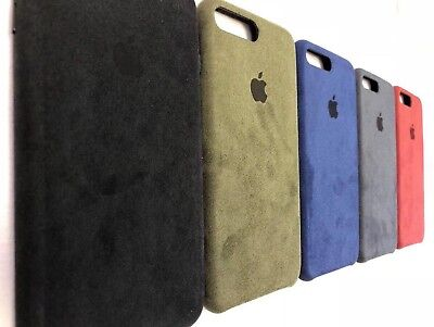 low priced 4b36a 1ae59 For iPhone 7 and 8 Plus Fully Covered Soft Suede/Alcantara Cover Case | eBay