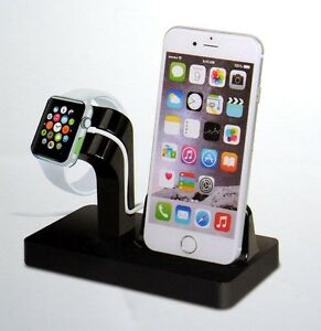 Details zu Dockingstation Apple iPhone 7 8 X XS XR Watch USB Ladestation  Docking Station 10