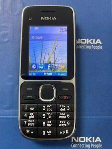 "Original Unlocked Nokia C2 C2-01 3.2MP 2.0""  English Hebrew Arabic Smartphone"