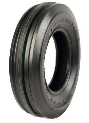 1 New 6.00-16 Crop Max 3-Rib Tri-Rib Front Tractor Tire FREE Shipping CM3104