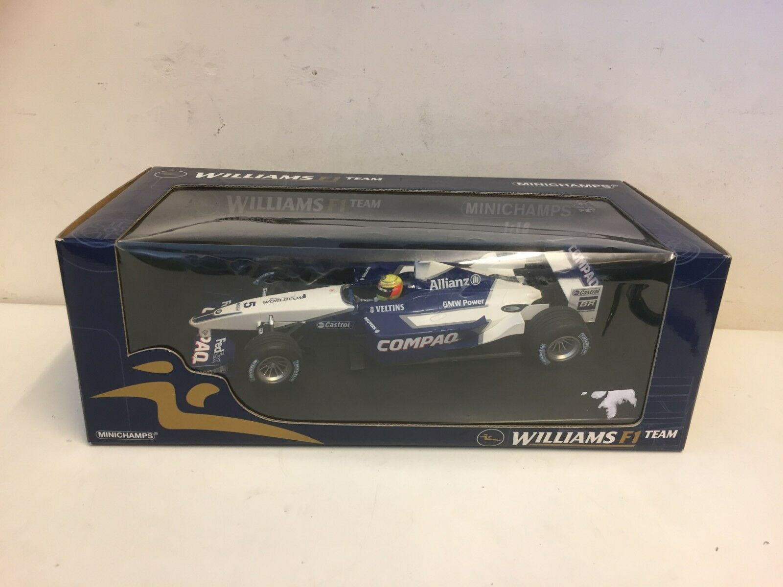 MINICHAMPS F1-Williams BMW Launch voiture-R. Schumacher-échelle 1 18 -100 020095   design unique
