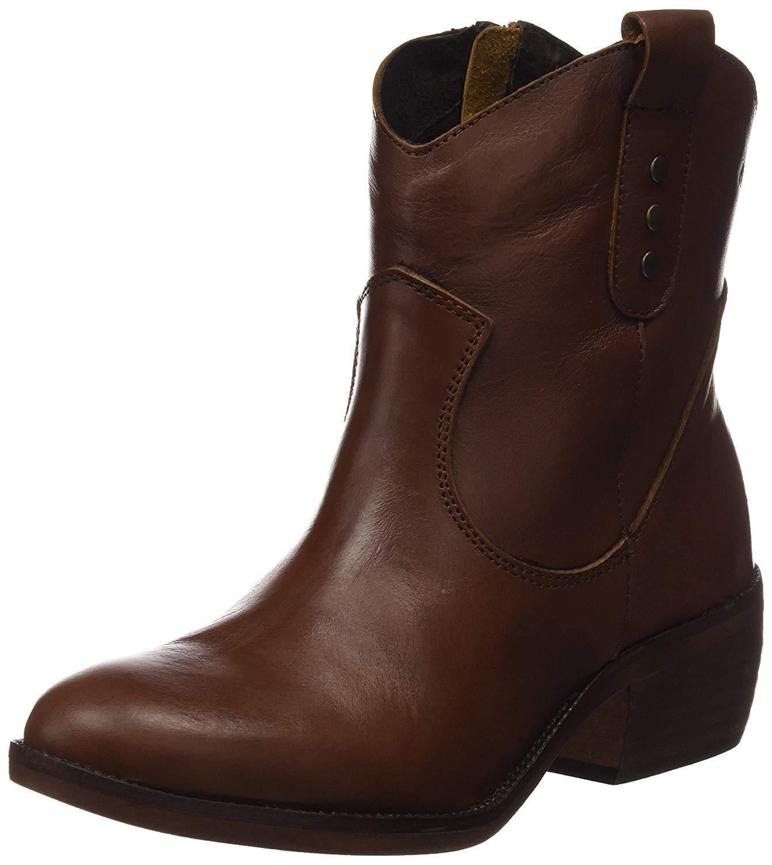 Leisure & Cloud Womens Western Cowboy Boots, Brown (Cue) 40 EU