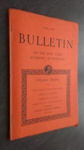 Notiziario Of I York Academy Of Medicina Giugno 1951 ABE