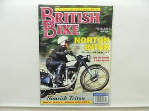 June 1995 BRITISH BIKE Magazine Norton Indian BSA Gold Star L9882