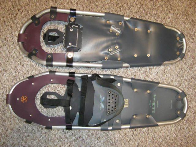 Snowshoes - Aluminum Frames - L.L. Bean - Winter Walker 27 - Made USA by Tubbs