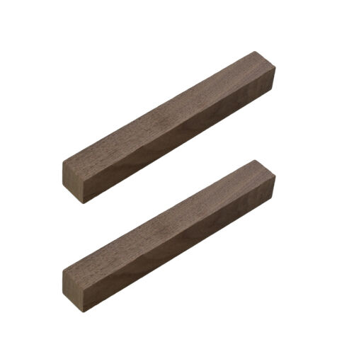 "DCTWood Turning Blanks 2pk 3//4/"" x 3//4/"" x 6/"" Inch Walnut Wood Pen Blanks"