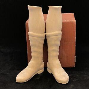 Coppia-Piedi-Orientali-Per-Figure-45-50-Cm-Legno-Restauro-Orientali-Presepe