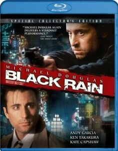 BLACK RAIN New Blu-ray Special Collector's Edition Cut UPC Michael Douglas