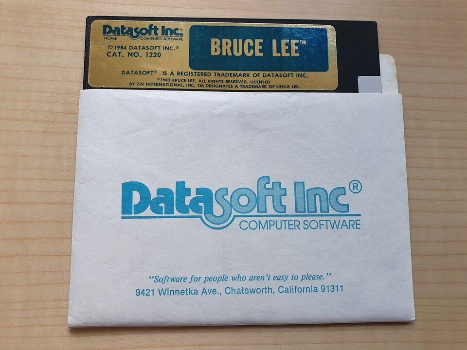 Bruce Lee [C64 disk] + fri fragt, Commodore 64