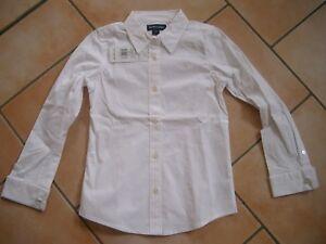 size 40 325ff 6d795 Details zu (C401) Polo Ralph Lauren Girls Bluse tailliert mit Logo Pferd  Stickerei gr.122