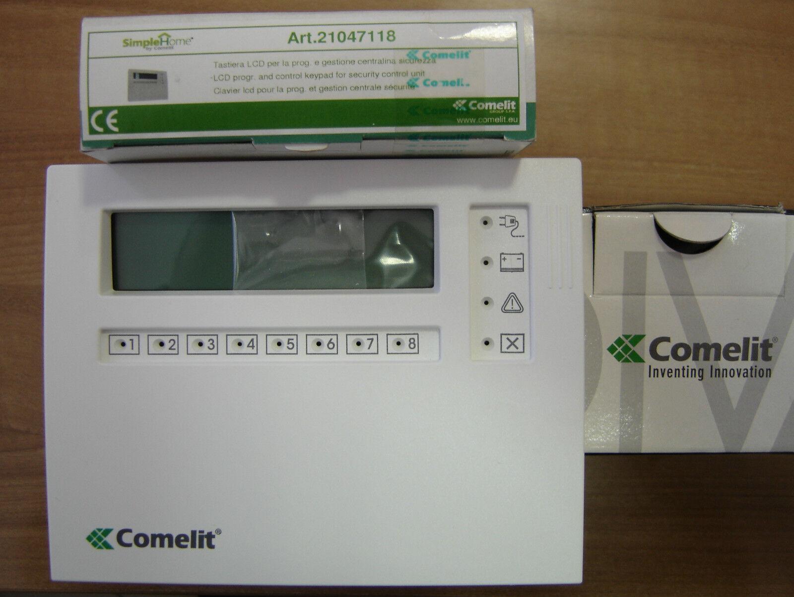 COMELIT 21047118 Clavier LCD centraux Série S paroi blanco affichage BUS