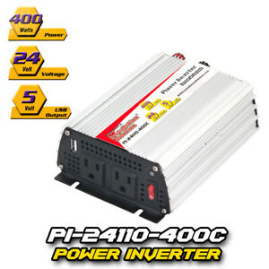 DC-to-AC-Power-Inverter-Continuous-Power-400-Watts-24-Volts-PI-24110-400C