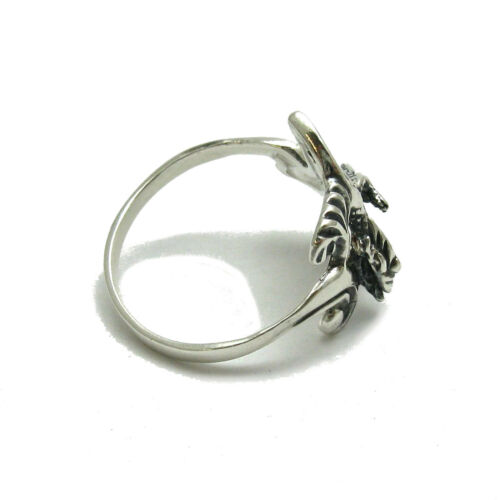 Feather moon stacking ring sterling silver stacking ring delicate ring simple ring hand stamped ring boho ring tribal ring silver ring