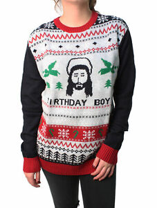Plus Size Ugly Christmas Sweater.Details About Ugly Christmas Sweater Plus Size Women S Jesus Birthday Boy Sweatshirt