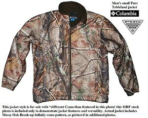 552150e38a127 Columbia mens sz Small Pure Tableland fleece lined hunting jacket ...