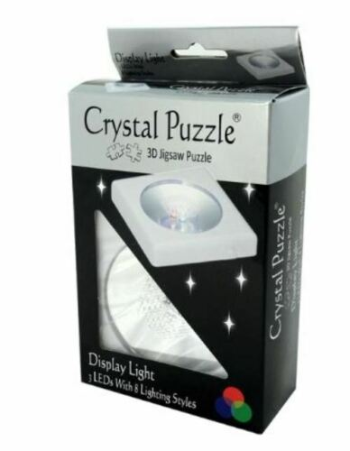 31735 DISPLAY LIGHT FOR 3D CRYSTAL PUZZLE 3 LEDS WITH 8 LIGHT SETTINGS