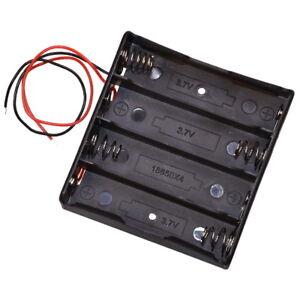 Batteriehalter-fur-4x-Lithum-3-7V-Typ-18650-Zelle-fur-Akku-Halterung-mit-Kabel