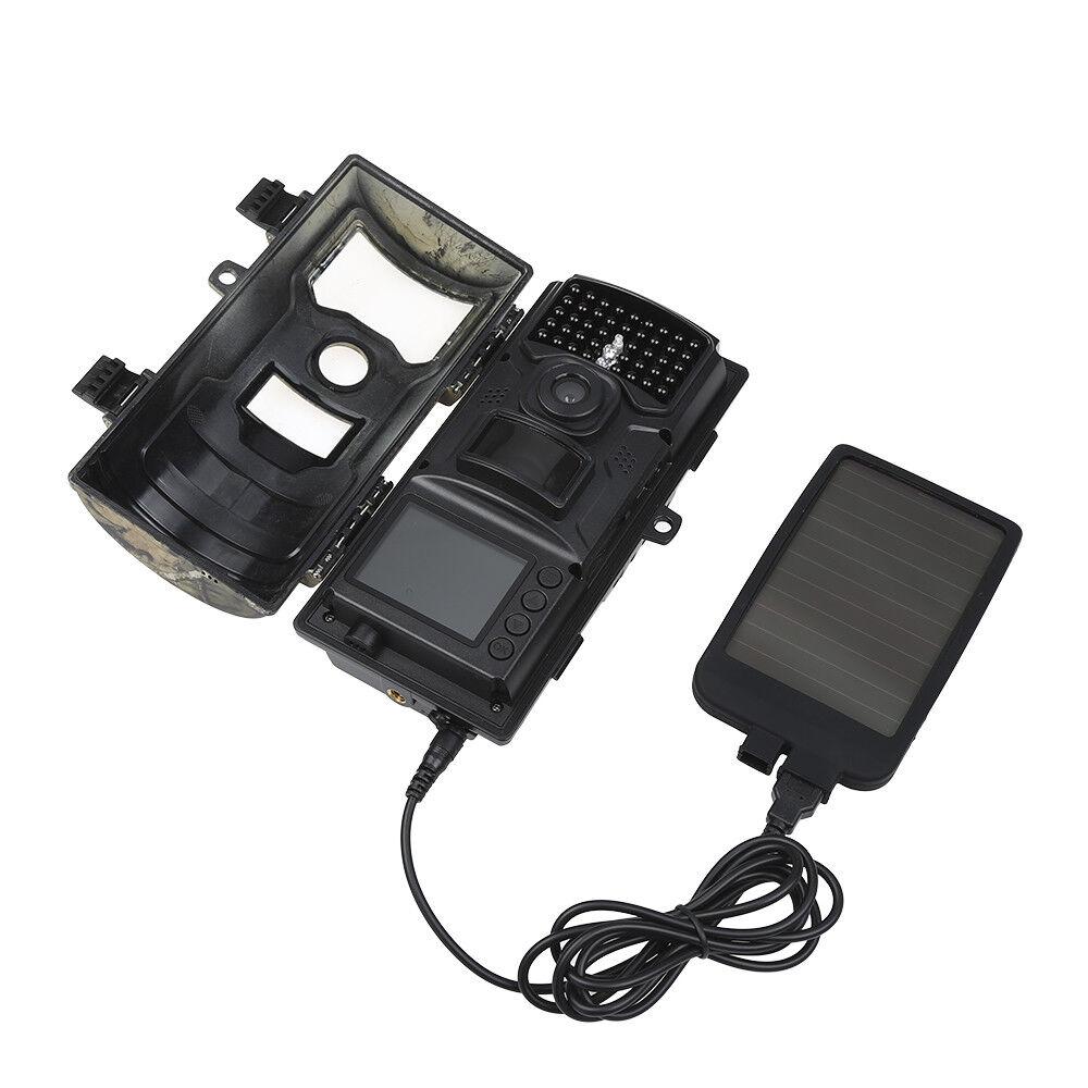 DC 7V LTL Acorn Solar Charger Panel Power for 5210A 5210MC 6210MC Hunting Camera