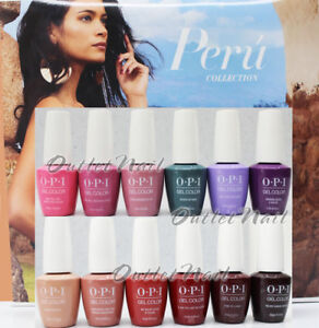 OPI Soak-Off GelColor PERU Collection FALL Winter 2018 PICK Any Gel Polish PERÚ