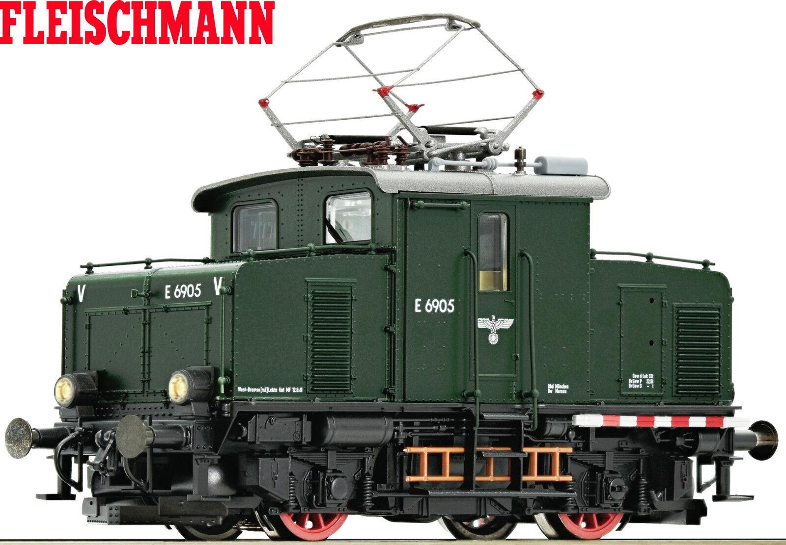 Fleischmann H0 390072 Locomotiva Elettrica e 69 Der Drb    per   Digitale+